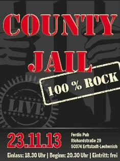 COUNTY JAIL live in Erftstadt, 23.11.13